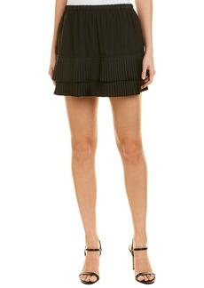 Maison Scotch Pleated Mini Skirt