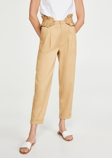 Scotch & Soda/Maison Scotch Chino Pants with Detachable Pleated Belt