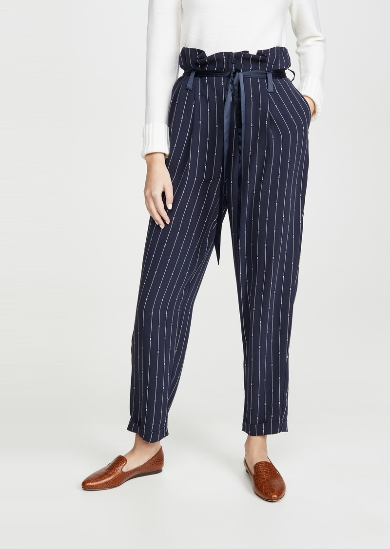 Scotch & Soda/Maison Scotch High Waisted Pinstripe Pants
