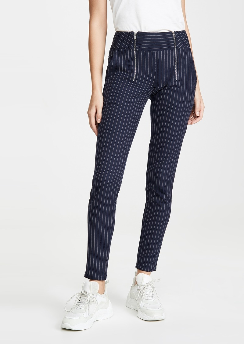 Scotch & Soda/Maison Scotch High Rise Skinny Zip Detail Pants