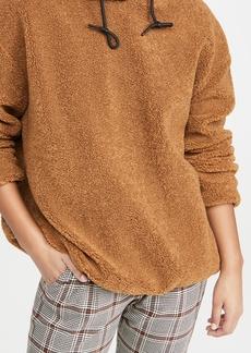 Scotch & Soda/Maison Scotch Hooded Teddy Sweatshirt