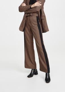 Scotch & Soda/Maison Scotch Wide Leg Contrast Side Panel Pants