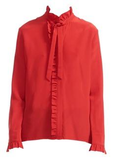 Maje Carma Silk Shirt