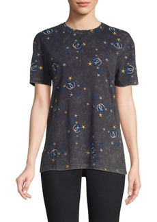 Maje Celestial Embroidered Tee