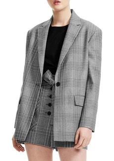 Maje Check Jacket