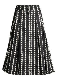 Maje Daisy A-Line Midi Skirt