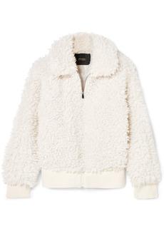 Maje Faux Shearling Jacket