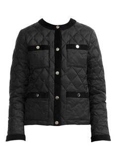 Maje Galipe Quilted Down Jacket