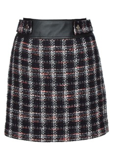 Maje Jisido Tweed Mini Skirt