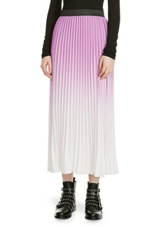 Maje Jonael Pleated Skirt