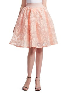 Maje Joshua Floral Lace Skirt