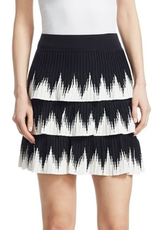 Maje Julia Layered Skirt