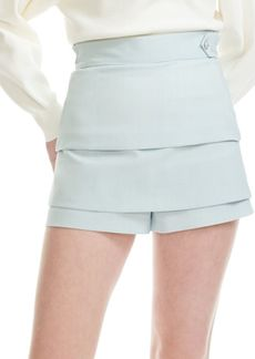 Maje Layered Shorts