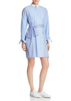 Maje Carty Striped Shirt Dress - 100% Exclusive