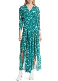 maje Floral Print Maxi Dress (Nordstrom Exclusive)