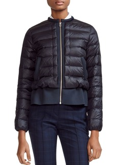 Maje Gaya Quilted Down Zip Jacket