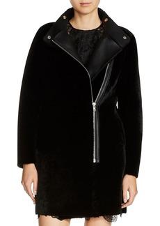 Maje Gibson Shearling Coat