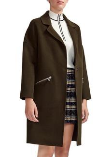 maje Grimala Wool Coat