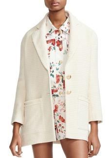 Maje Guill Tweed Jacket