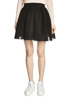 Maje Jake Textured Full Skirt