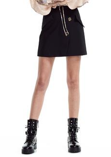 maje Jana Stretch Miniskirt