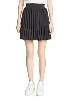 Maje Japon Pleated Skirt