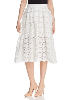 Maje Jardin Rosette Appliqu� Skirt - 100% Exclusive