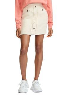 Maje Jill Tweed Skirt