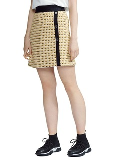 Maje Jisidore Tweed Skirt