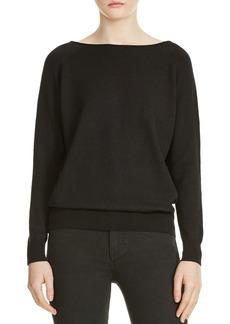 Maje Macademia Chain-Back Sweater