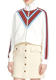 Maje Manela Zip-Front Jacket