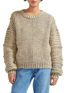 maje Marled Knit Sweater