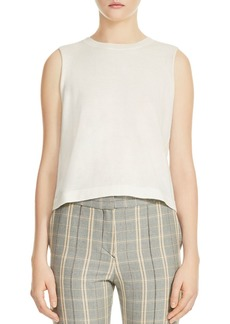 Maje Monia Sleeveless Tie-Back Sweater