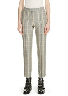 Maje Puya Plaid Pants