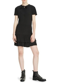 Maje Raboa Ruffled Dress