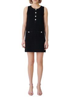 maje Rassimy Sleeveless Knit Dress