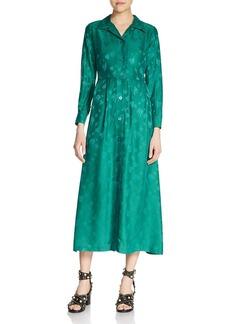 Maje Rawane Midi Shirt Dress