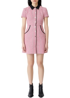 maje Renatya Tweed Minidress