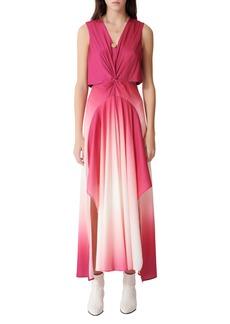 maje Resia Ombré Maxi Dress