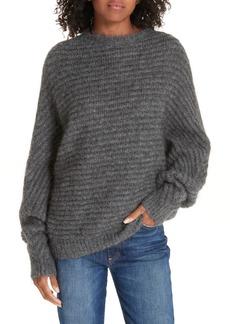 maje Rib Knit Sweater