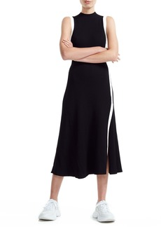 maje Rose Knit Midi Dress