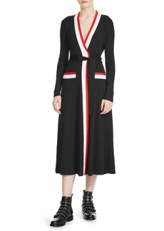 Maje Rosiana Wrap Dress