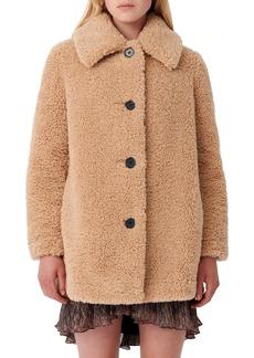 maje Teddy Bear Jacket