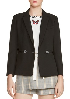 Maje Valmy Double-Breasted Blazer