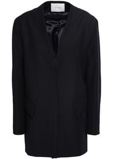 Maje Woman Valleane Cotton-blend Twill Jacket Black