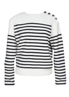 Maje Marin Striped Sweater