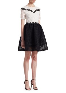 Maje Renald Lace Dress