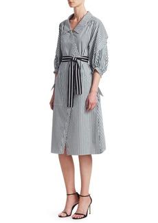 Maje Rilucci A-Line Shirt Dress