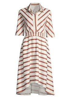 1dff2c61793 Maje Romala Stripe Shirtdress