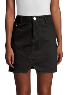 Maje Short Denim Mini Skirt